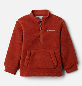 Boys' Toddler Rugged Ridge™ II Half Zip Sherpa Fleece Pullover