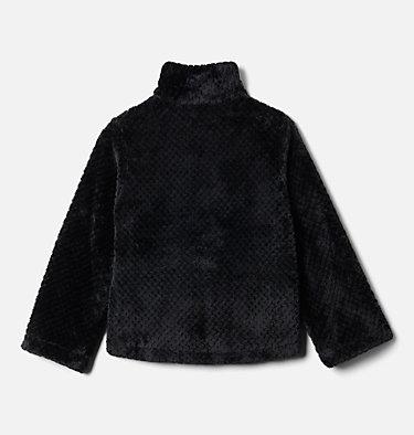 Girls' Fire Side™ Half Zip Sherpa Fleece Fire Side™ Sherpa Half Zip | 619 | XL, Black, back