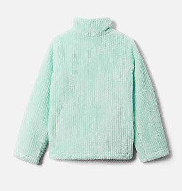 Girls' Fire Side™ Half Zip Sherpa Fleece Fire Side™ Sherpa Half Zip | 619 | XL, Sea Ice, back