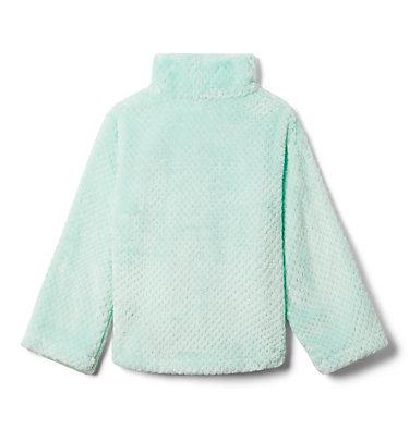 Girls' Fire Side™ Half Zip Sherpa Fleece Fire Side™ Sherpa Half Zip   466   XS, Sea Ice, back