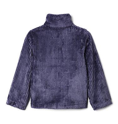 Girls' Fire Side™ Half Zip Sherpa Fleece Fire Side™ Sherpa Half Zip   466   XS, Nocturnal, back
