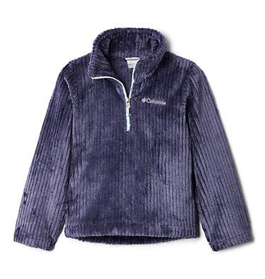 Girls' Fire Side™ Half Zip Sherpa Fleece Fire Side™ Sherpa Half Zip   466   XS, Nocturnal, front