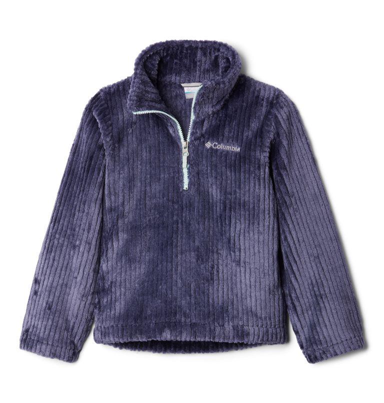 Girls' Fire Side™ Half Zip Sherpa Fleece Girls' Fire Side™ Half Zip Sherpa Fleece, front