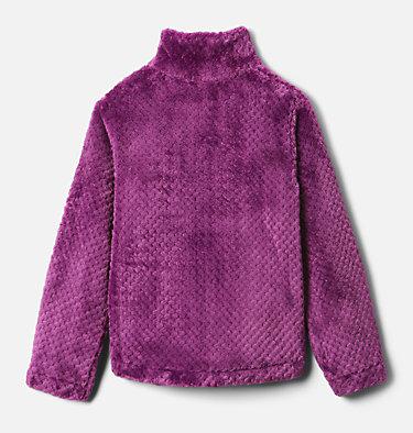 Girls' Fire Side™ Half Zip Sherpa Fleece Fire Side™ Sherpa Half Zip | 619 | XL, Plum, back