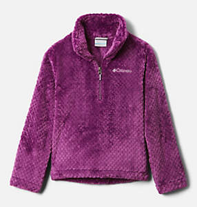 Girls' Fire Side™ Half Zip Sherpa Fleece