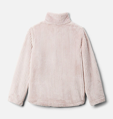 Girls' Fire Side™ Half Zip Sherpa Fleece Fire Side™ Sherpa Half Zip | 619 | XL, Mineral Pink, back