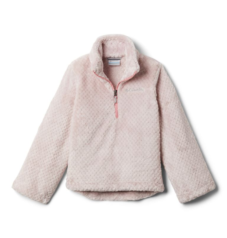 Girls' Fire Side™ Half Zip Sherpa Fleece Girls' Fire Side™ Half Zip Sherpa Fleece, front