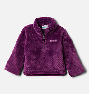 Toddler Girls' Fire Side™ Half Zip Sherpa Fleece Pullover