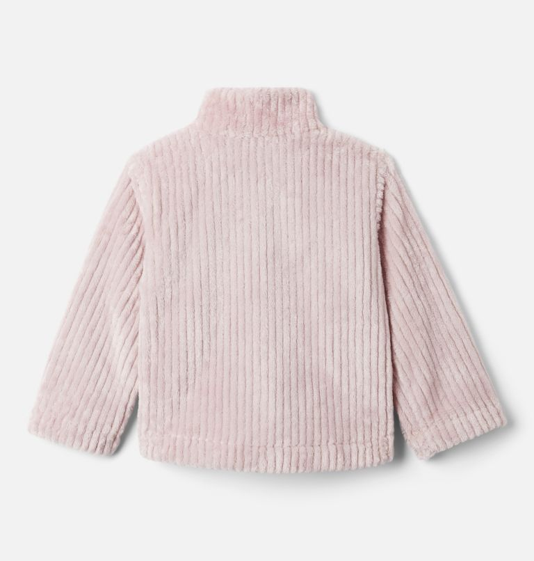 Toddler Girls' Fire Side™ Half Zip Sherpa Fleece Pullover Toddler Girls' Fire Side™ Half Zip Sherpa Fleece Pullover, back