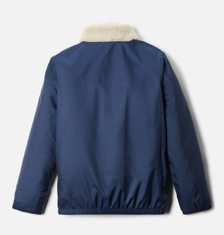 Archer Ridge™ Reversible Full Zip | 271 | M Kids' Archer Ridge™ Reversible Full Zip Jacket, Ancient Fossil, Collegiate Navy, a2