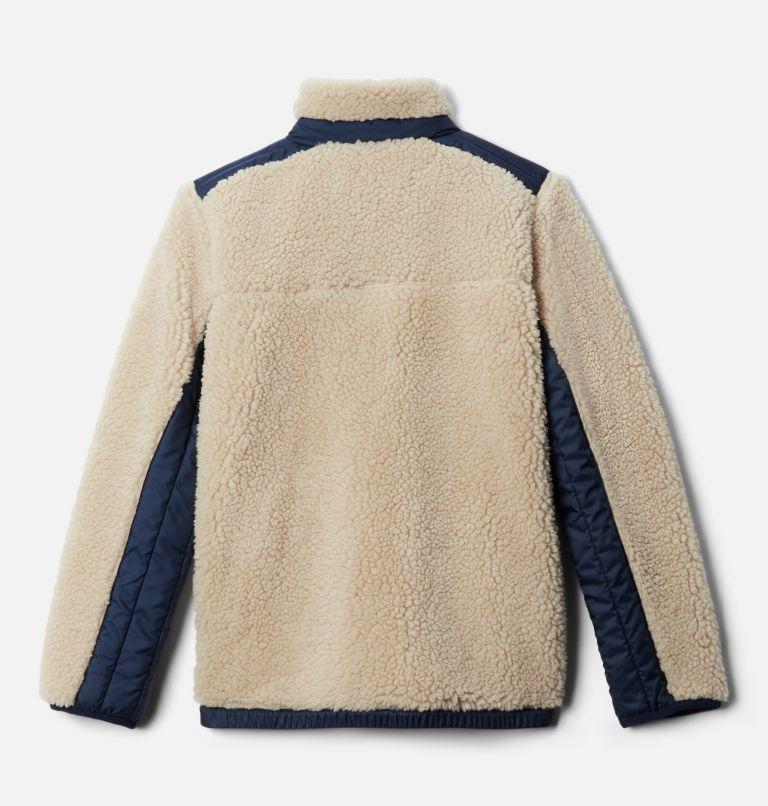 Archer Ridge™ Reversible Full Zip   271   S Kids' Archer Ridge™ Reversible Full Zip Jacket, Ancient Fossil, Collegiate Navy, back
