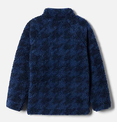 Kids' Winter Pass™ Printed Sherpa Full Zip Fleece Jacket Winter Pass™ Printed Sherpa Full Zip   452   XL, Night Tide Houndstooth (C) Print, back