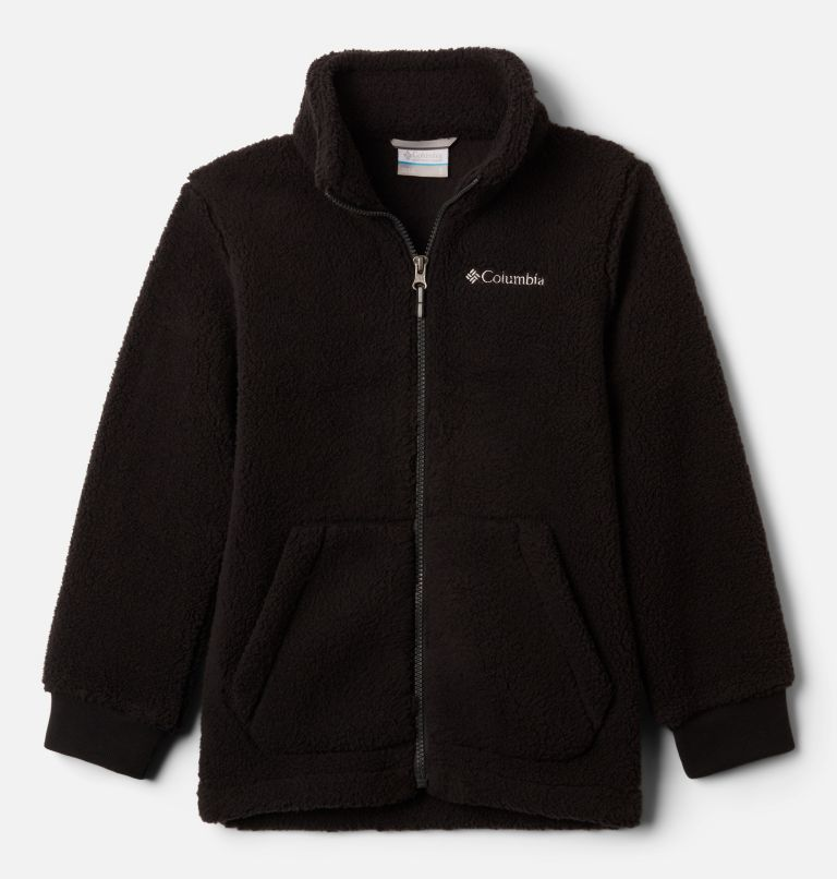 Rugged Ridge™ II Sherpa Full Zip | 010 | S Boys' Rugged Ridge™ II Full Zip Sherpa, Black, front