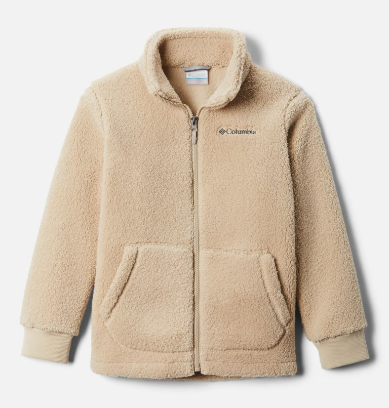 Rugged Ridge™ II Sherpa Full Zip | 271 | XS Boys' Rugged Ridge™ II Full Zip Sherpa, Ancient Fossil, front