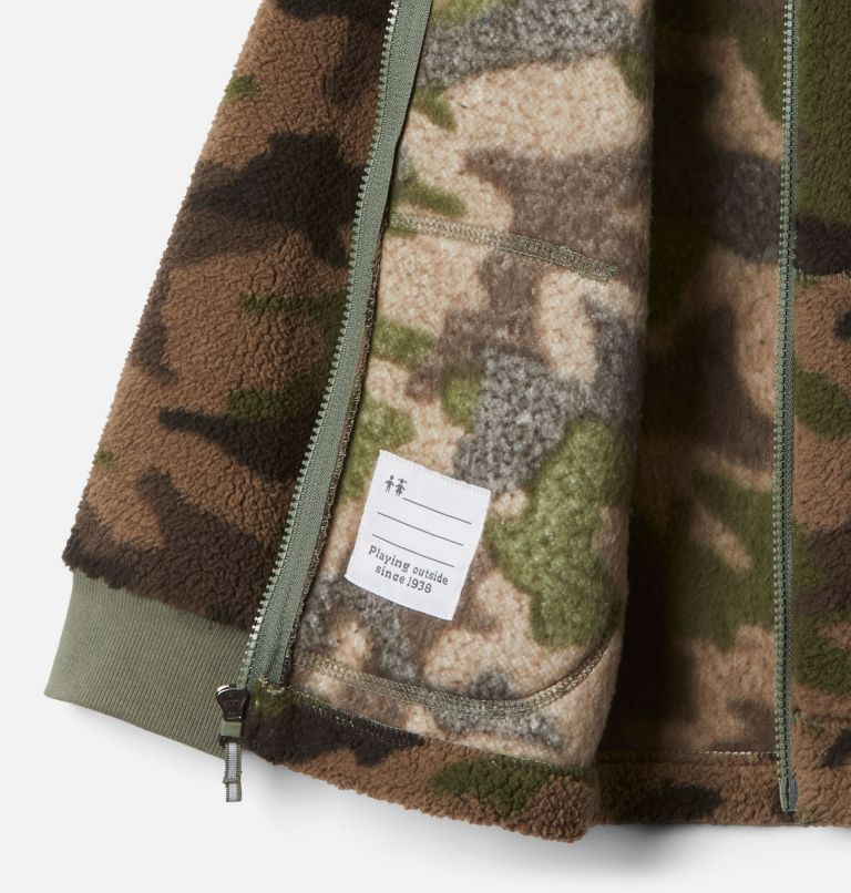 Rugged Ridge™ II Sherpa Full Zip | 316 | L Boys' Rugged Ridge™ II Full Zip Sherpa, Cypress Trad Camo Print, a1