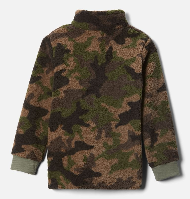 Rugged Ridge™ II Sherpa Full Zip | 316 | L Boys' Rugged Ridge™ II Full Zip Sherpa, Cypress Trad Camo Print, back