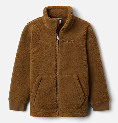 Boys' Rugged Ridge™ II Full Zip Sherpa Rugged Ridge™ II Sherpa Full Zip | 028 | L, New Olive, front