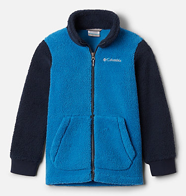 Manteau à fermeture éclair en Sherpa Rugged Ridge™ II pour garçon Rugged Ridge™ II Sherpa Full Zip | 432 | XL, Bright Indigo, Collegiate Navy, front