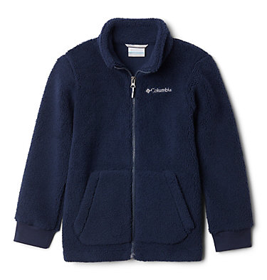 Rugged Ridge II in Sherpa da ragazzo Rugged Ridge™ II Sherpa Full Zip | 464 | S, Collegiate Navy, front
