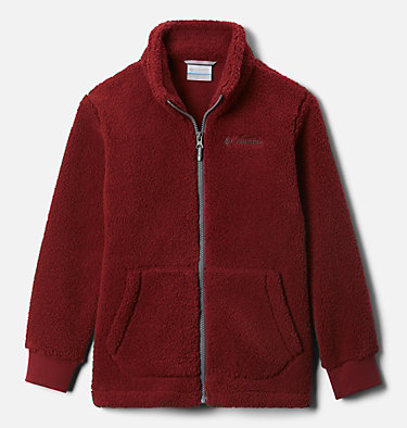 Boys' Rugged Ridge™ II Full Zip Sherpa Rugged Ridge™ II Sherpa Full Zip | 028 | L, Red Jasper, front