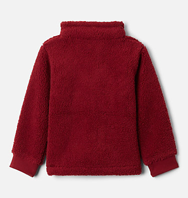 Boys' Toddler Rugged Ridge™ II Full Zip Sherpa Fleece Jacket Rugged Ridge™ II Sherpa Full Zip | 664 | 2T, Red Jasper, back