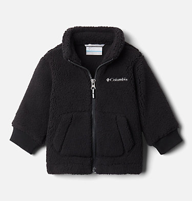 Infant Rugged Ridge™ II Full Zip Sherpa Fleece Jacket Rugged Ridge™ II Sherpa Full Zip | 316 | 18/24, Black, front