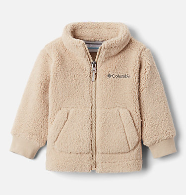 Infant Rugged Ridge™ II Full Zip Sherpa Fleece Jacket Rugged Ridge™ II Sherpa Full Zip | 010 | 6/12, Ancient Fossil, front