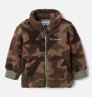 Infant Rugged Ridge™ II Full Zip Sherpa Fleece Jacket Rugged Ridge™ II Sherpa Full Zip | 316 | 18/24, Cypress Trad Camo Print, front