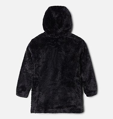 Girls' Fire Side™ Long Sherpa Fleece Jacket Fire Side™ Sherpa Long Jacket | 618 | XXS, Black, back