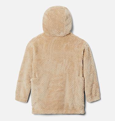 Girls' Fire Side™ Long Sherpa Fleece Jacket Fire Side™ Sherpa Long Jacket | 618 | XXS, Ancient Fossil, back