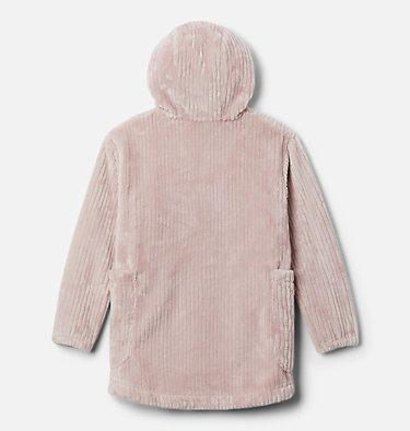 Girls' Fire Side™ Long Sherpa Fleece Jacket Fire Side™ Sherpa Long Jacket | 618 | XXS, Mineral Pink, back