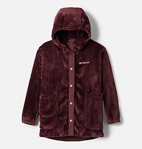 Girls' Fire Side™ Long Sherpa Fleece Jacket