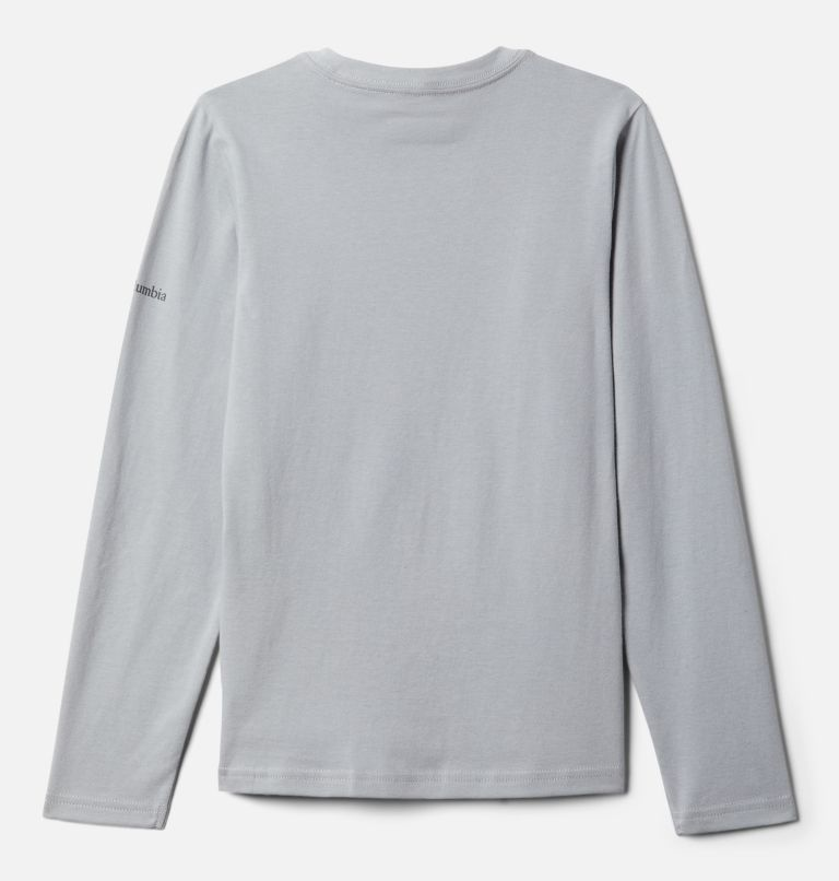 Naturally Wild™ Graphic LS Tee | 039 | 4T Boys' Toddler Naturally Wild™ Graphic Long Sleeve Shirt, Columbia Grey, back