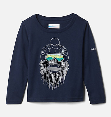 Boys' Toddler Naturally Wild™ Graphic Long Sleeve Shirt Naturally Wild™ Graphic LS Tee | 100 | 2T, Collegiate Navy, front