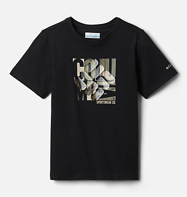 Boys' Roast and Relax™ Graphic Short Sleeve Shirt Roast and Relax™ Graphic SS Tee | 100 | XS, Black, front