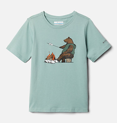 Boys' Roast and Relax™ Graphic Short Sleeve Shirt Roast and Relax™ Graphic SS Tee | 100 | XS, Aqua Tone, front