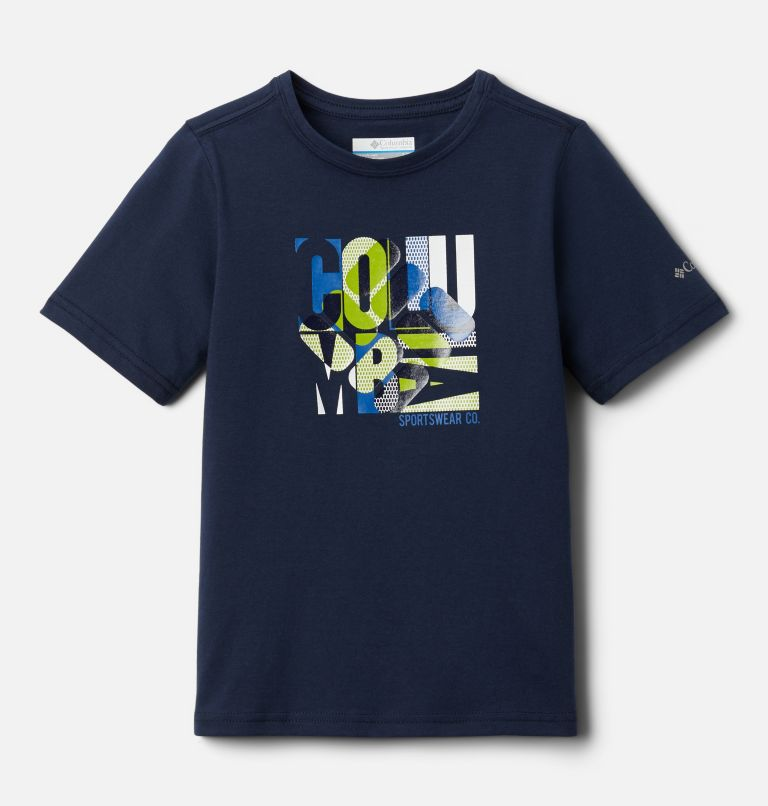 Roast and Relax™ Graphic SS Tee | 464 | XL T-shirt a maniche corte Roast and Relax da ragazzo, Collegiate Navy, front