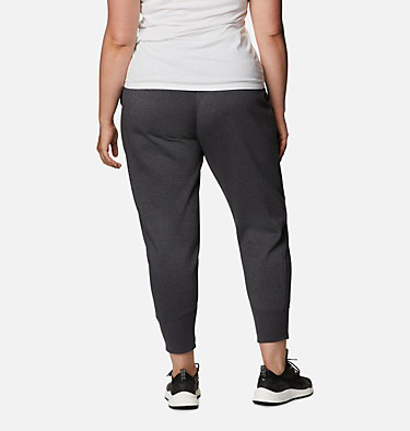 Jogging en tricot Columbia Lodge™ pour femme - Grandes tailles Columbia Lodge™ Knit Jogger | 011 | 2X, Shark Heather, back