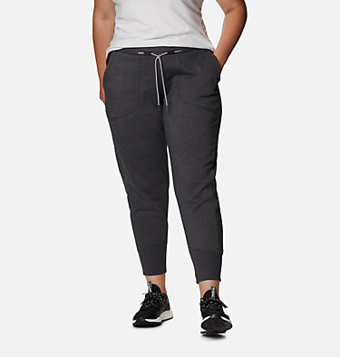 Jogging en tricot Columbia Lodge™ pour femme - Grandes tailles Columbia Lodge™ Knit Jogger | 011 | 2X, Shark Heather, front