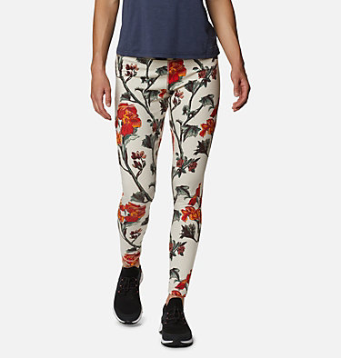 Women's Columbia Lodge Legging Columbia Lodge™ Legging | 012 | L, Chalk Botanica Print, front