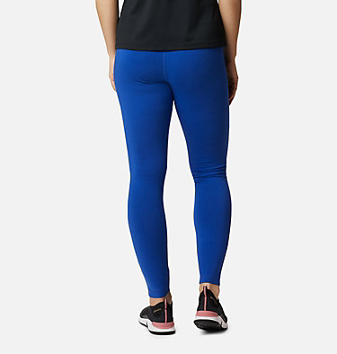Women's Columbia Lodge Legging Columbia Lodge™ Legging | 012 | L, Lapis Blue Brushstroke Print, back