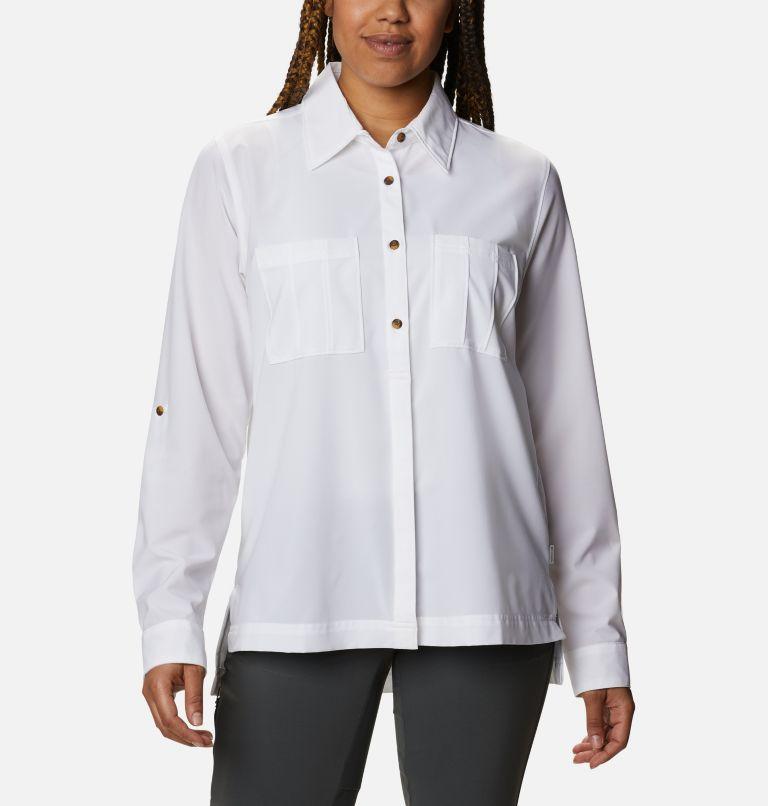 Women's Essential Elements™ Woven Long Sleeve Shirt Women's Essential Elements™ Woven Long Sleeve Shirt, front