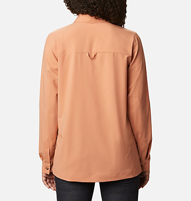 Women's Essential Elements™ Woven Long Sleeve Shirt Essential Elements™ Woven LS Shirt | 100 | L, Nova Pink, back