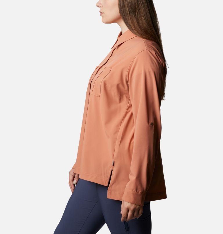 Women's Essential Elements™ Woven Long Sleeve Shirt - Plus Size Women's Essential Elements™ Woven Long Sleeve Shirt - Plus Size, a1