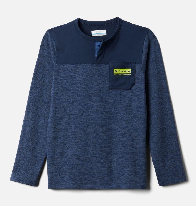 Better Edge™ Long Sleeve Shirt | 452 | XXS Boys' Better Edge™ Long Sleeve Shirt, Night Tide, Collegiate Navy, front
