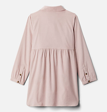 Girls' Rockfall™ Long Sleeve Dress Rockfall™ Long Sleeve Dress | 619 | L, Mineral Pink Corduroy, back