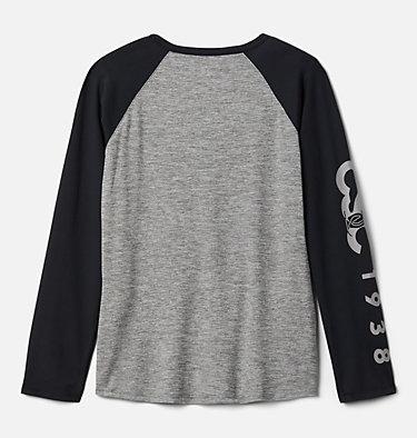 Girls' Better Edge™ Long Sleeve Tunic Better Edge™ Long Sleeve Tunic | 618 | M, Charcoal Heather, Black, back