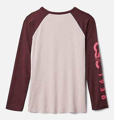 Girls' Better Edge™ Long Sleeve Tunic Better Edge™ Long Sleeve Tunic | 618 | M, Mineral Pink, Malbec, back
