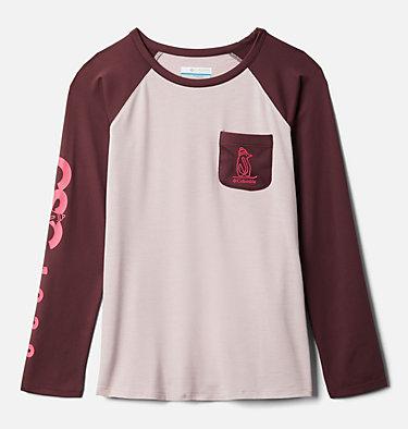 Girls' Better Edge™ Long Sleeve Tunic Better Edge™ Long Sleeve Tunic | 618 | M, Mineral Pink, Malbec, front