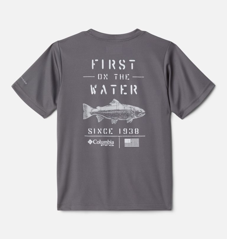Boys' PFG True Pursuit™ T-shirt Boys' PFG True Pursuit™ T-shirt, front